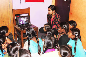Photo: 4.17.15 Safecity conducted workshop for 100 children at governemnt school in Lal Kuan, India