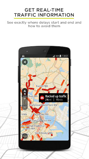 TomTom GPS Navigation - Live Traffic Alerts & Maps 1.17.10 screenshots 2
