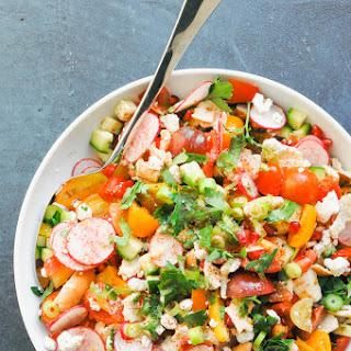 The Best Fattoush Salad.
