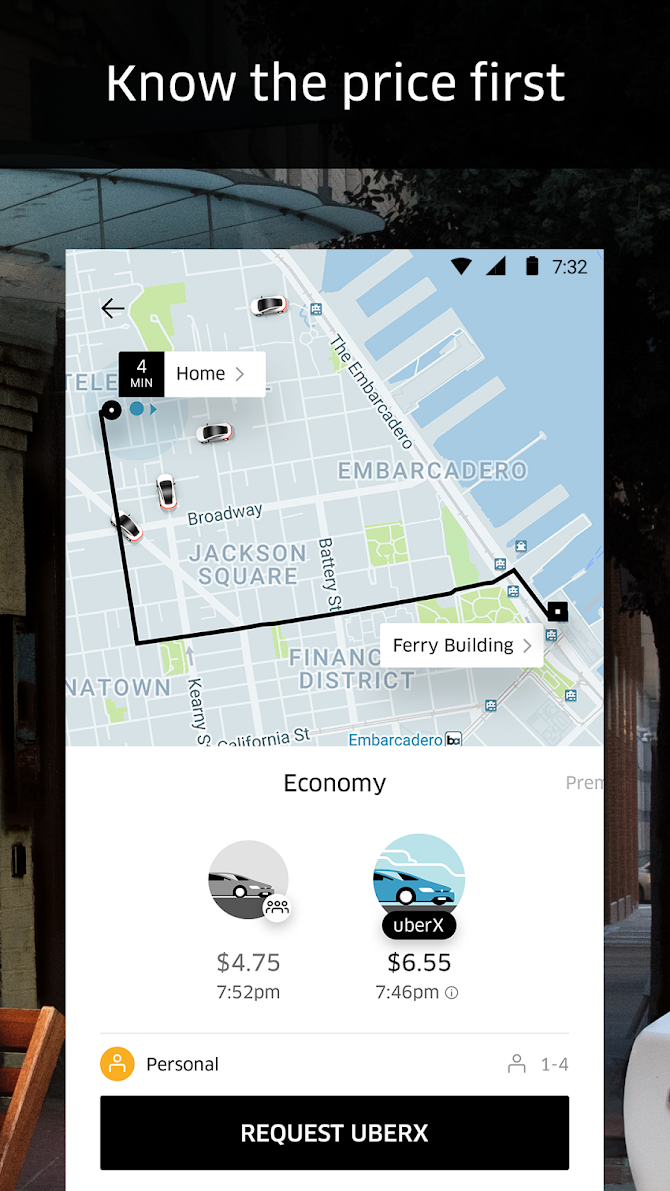 Uber Android 3