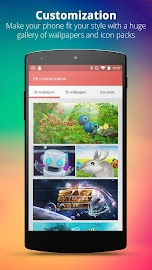 UR 3D Launcher—Customize Phone Screenshot 1