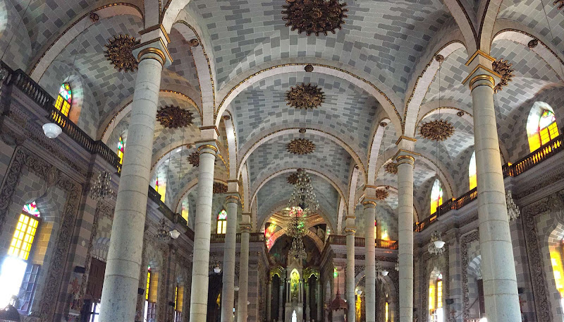 Inside the Cathedral of the Immaculate Conception in Mazatlan, Mexico.