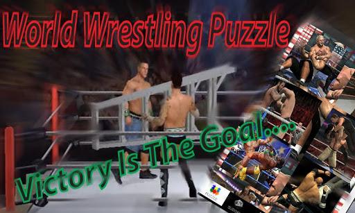 World Wrestling: Puzzle