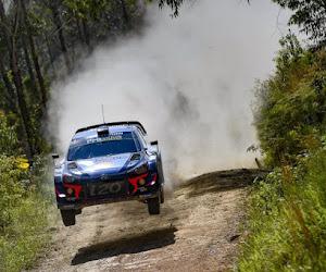 Thierry Neuville fait une bonne opération à trois spéciales du Rallye d'Argentine