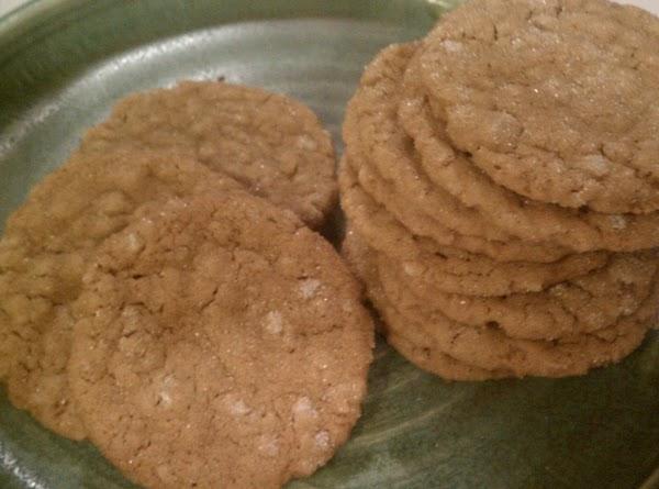 Oatmeal Gingersnaps Recipe