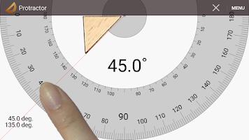 Screenshot of Smart Protractor