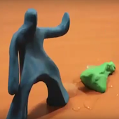 shifting animated clay