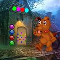 Funny Dog Rescue Best Escape Game-323 icon