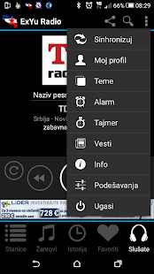 ExYu Radio Stanice- screenshot thumbnail