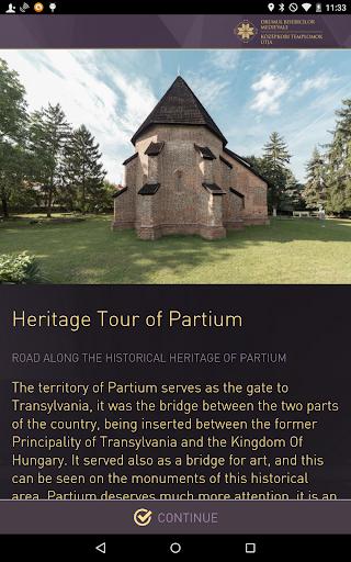 Heritage Tour of Partium