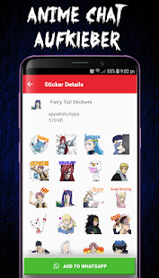 Anime-Sticker für WhatsApp - (WAStickerApps) Screenshot