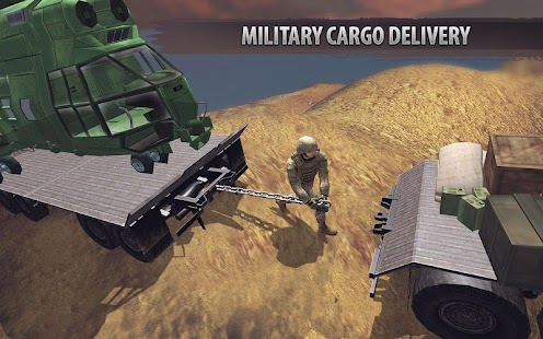 Off Road Army Chained Trucks: Truck Driving Game - náhled