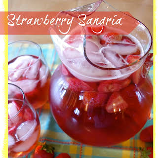 Strawberry Sangria.