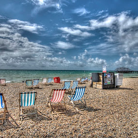 Brighton  by Mark West - Landscapes Beaches