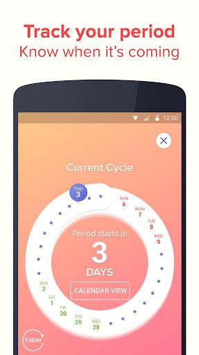 Eve Period Tracker - Love, Sex & Relationships App screenshot