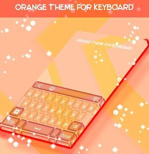 Orange Theme for Keyboard - náhled