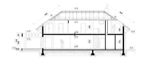 New House 7 - Przekrój