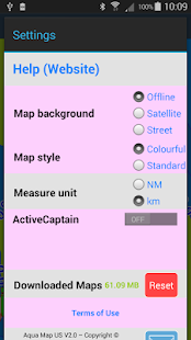Aqua Map Montana Lakes GPS- screenshot thumbnail