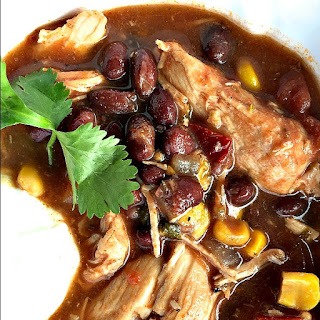 Chicken Enchilada Soup With Black Beans Recipes
