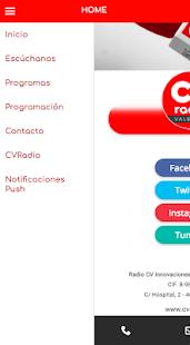 CVRadio - náhled