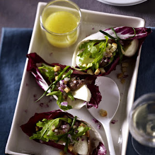 Mozzarella, Anchovy and Radicchio Parcels