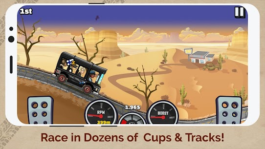 Hill Climb Racing 2 Apk MOD (Unlimited Money) 3