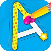ABC Tracing Games For Kids - Alphabet & Numbers