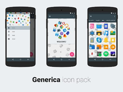 Generica icon pack PRE-RELEASE v0.0.1