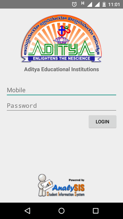 Aditya Analysis- screenshot
