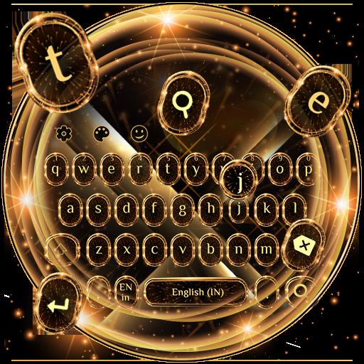 Rich Gold Keyboard Theme