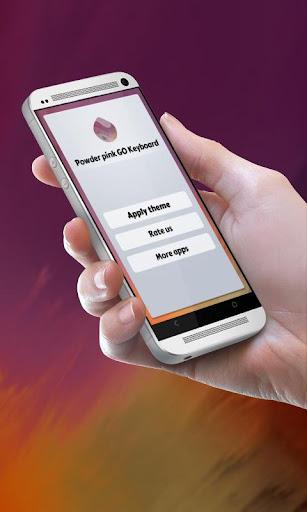 無料个人化Appのパウダーピンク GO Keyboard|記事Game