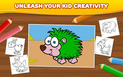 無料教育Appの動物:子供のぬりえ|記事Game