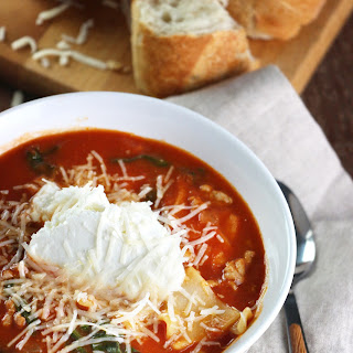3-Cheese Lasagna Soup