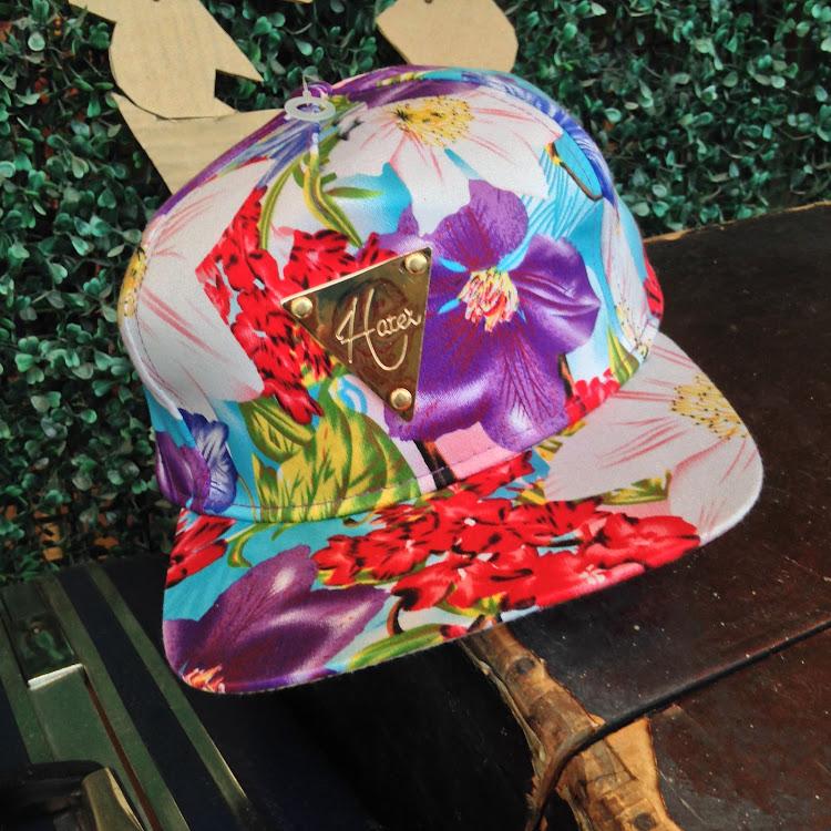 Hawaiian Snapback in Purple by Le Tea Boutique