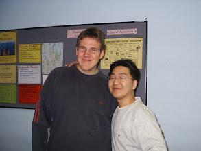 """Photo: Ich und mein """"Klassenkamerad"""" Jun"""