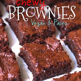 Chewy Vegan & Paleo Brownies.