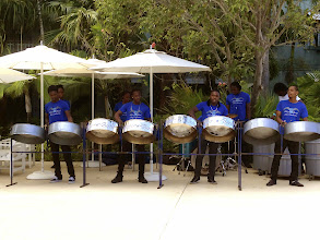 Photo: The Silver Birds are my favorite! They played three times while we were there (11 day stay.)