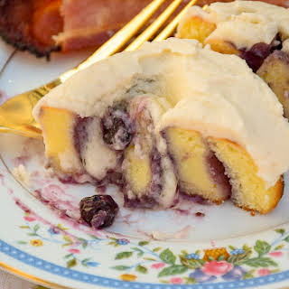 Keto Blueberry Sweet Rolls.