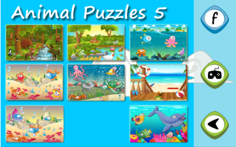Animal Puzzles for kids 5- screenshot