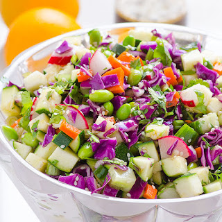 Chopped Asian Zucchini Salad