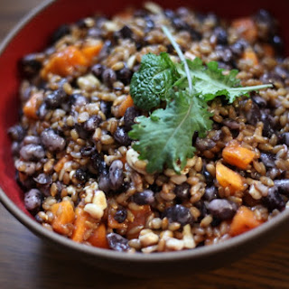 Sweet Rye Berry Salad