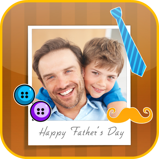 Father's Day Photo Frames app (apk) free download for Android/PC/Windows