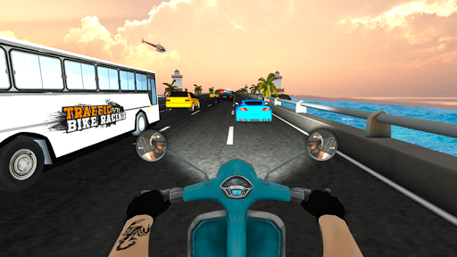 VR Ultimate Traffic Bike Racer 3D  screenshots 22
