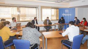 Imagen de archiivo del Comité Organizador del congreso del PP.
