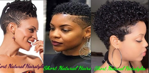 Short Natural Hairstyles Apps Bei Google Play
