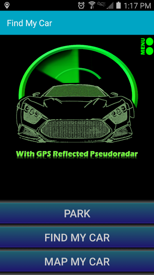 Find My Car - GPS Navigation - screenshot