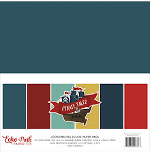 Echo Park Double-Sided Solid Cardstock 12X12 6/Pkg - Pirate Tales UTGÅENDE