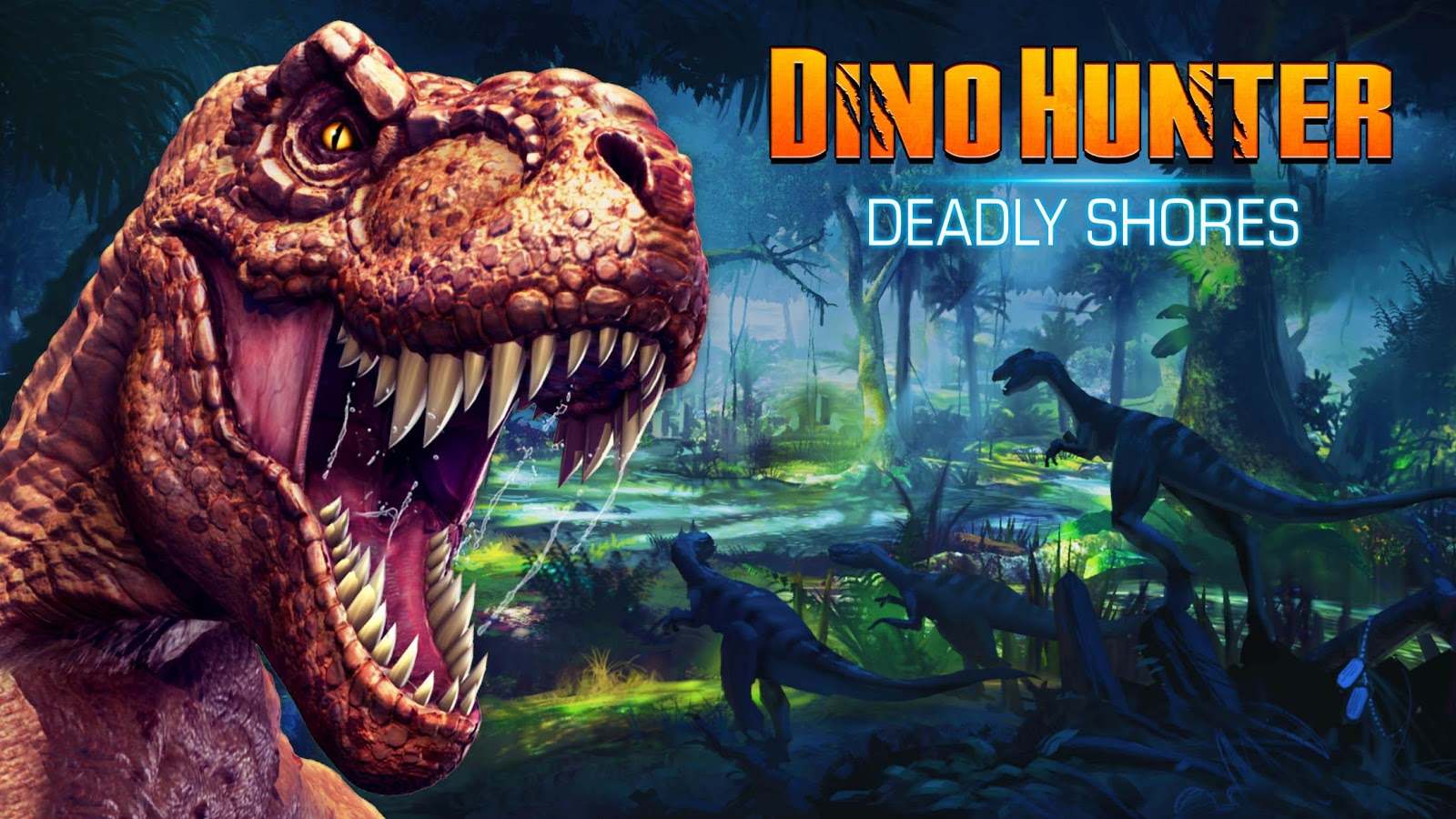 Dino Hunter offline shooting game for android