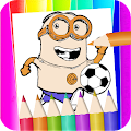 minions ruch coloring page fans