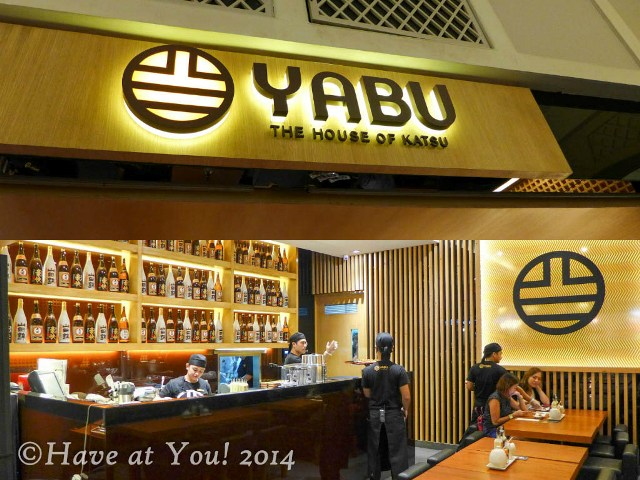 Yabu store and logo